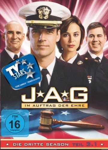JAG: Im Auftrag der Ehre - Season 3.1 [3 DVDs]