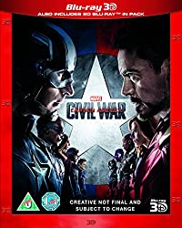 Captain America: Civil War [Blu-ray 3D] [2016]