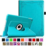 Fintie Apple iPad Air Case - 360 Degree Rotating Stand Case Cover with Auto Sleep / Wake Feature for iPad Air / iPad 5 (5th Generation) - Vintage Winter Ice