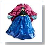 Disney Store Frozen Princess Anna Costume Size Medium 7/8