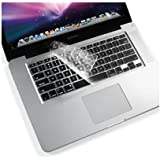 "BisLinks® Keyboard Silicone Guard Cover for Apple MacBook Pro 13 15"" 17"" US Version"