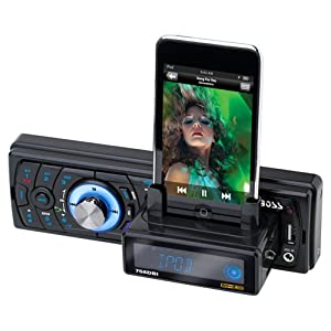 Boss Audio 758DBI In-Dash Digital Media Receiver with Built-In iPod Docking Station