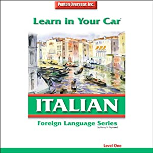 Learn in Your Car: Italian, Level 1 | [Henry N. Raymond]