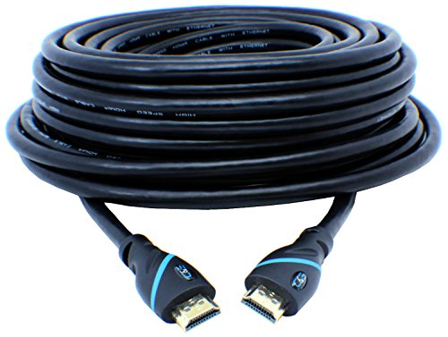 C&E CNE44542 High-Speed Supports Ethernet, 3D and Audio Return ULTRA Series 50 Feet HDMI Cable