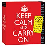 Workman Publishing Keep Calm and Carry on Page-A-Day