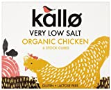 Kallo Foods Organic Chicken Stock Cube 51 g (Pack of 5)