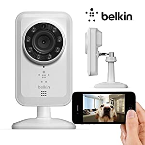 Belkin NetCam Wi-Fi Web Surveillance Camera With Night Vision F7D7601 by Belkin