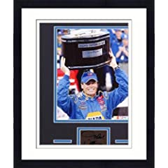 Framed Michael Waltrip Matted 8x10 Photograph with Autographed Cut Piece - Memories -... by Sports Memorabilia