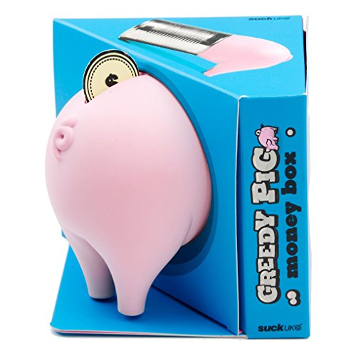 SUCK UK Greedy Pig Money Box