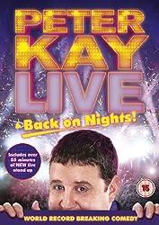 Peter Kay: Live & Back on Nights (DVD + UV Copy)