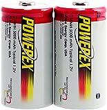 Powerex MH-2C500 Powerex C 5000mAh 2-Pack Rechargeable Batteries