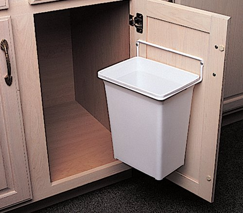 Trash Garbage Kitchen Can Bin Utility Cabinets Waste Wastebasket Home Bathrooms Ebay