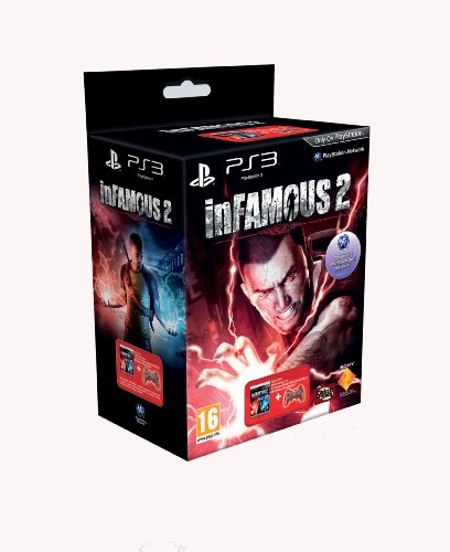 inFAMOUS 2 - Crimson Red Controller Bundle (PS3)