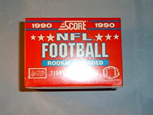 1990 Score NFL Football Factory Sealed Rookie and Traded Set EMMITT SMITH RC