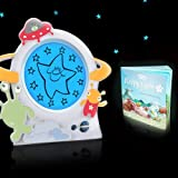 Gro Clock Sleep Trainer with Story Book and Little Aliens Clock Face - Updated Version - NEW VERSION