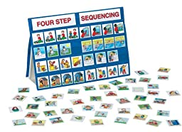 Smethport Tabletop Pocket Chart Four Step Sequencing