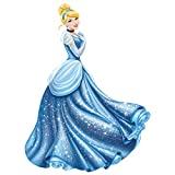 Roommates Rmk1957Gm Disney Princess Cinderella Glamour Peel And Stick Giant Wall Decal