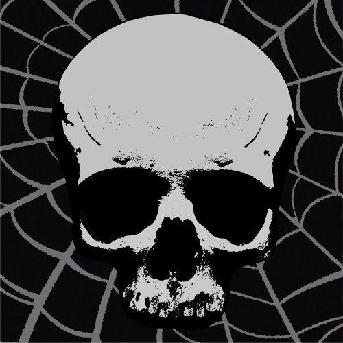 Skull Terror Luncheon Napkins