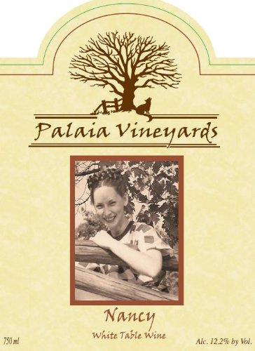 Nv Palaia Vineyards Nancy White Blend 750 Ml