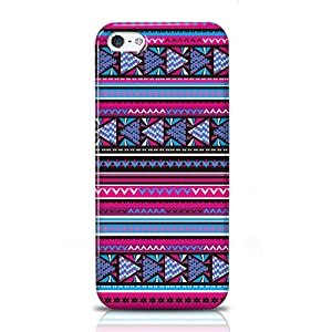 Xtra-Funky Exclusive Aztec Tribal Mexican Patterned Plastic Hard Case Cover Shell For Apple iPHONE 5 (APPLE iPHONE 5, A4 DESIGN)