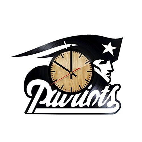 New England Patriots Wall Clock Patriots Wall Clock