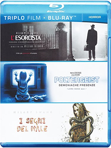 L'esorcista + Poltergeist - Demoniache presenze + I segni del male [Blu-ray] [IT Import]