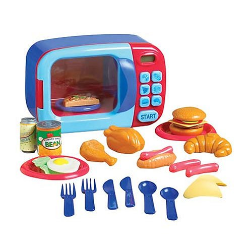 Just Like Home: Microwave Oven - Buy Just Like Home: Microwave Oven - Purchase Just Like Home: Microwave Oven (just like home, Toys & Games,Categories,Pretend Play & Dress-up,Sets,Cooking & Housekeeping,Real-Food Appliances)