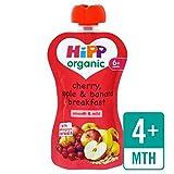 HiPP Orgánica de la cereza, manzana y plátano desayuno 100g