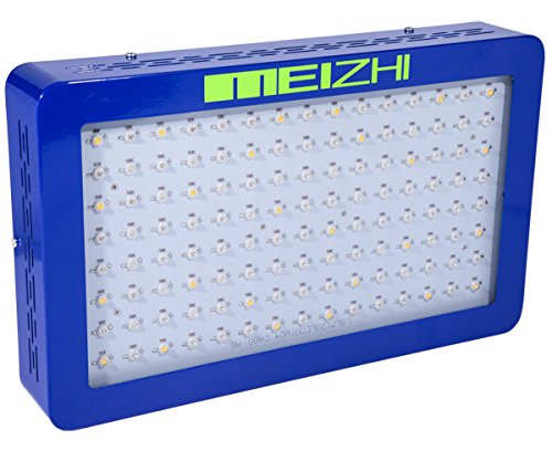 MEIZHI Led Grow Light 600W Full Spectrum for Hydropnics Indoor/Greenhouse Plants Growing Veg and Bloom