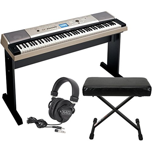 yamaha-ypg-535-88-key-portable-grand-piano-keyboardwith-bench-and-headphones