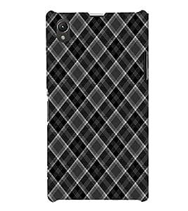 EPICCASE allotrope black Mobile Back Case Cover For Sony Xperia Z1 (Designer Case)