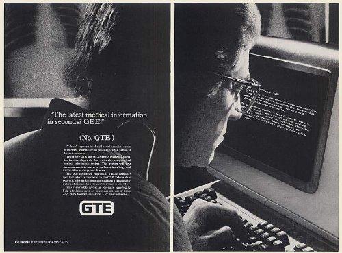 1983-gte-telenet-ama-computer-medical-information-system-2-page-print-ad-memorabilia-56087