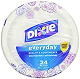 Dixie HD Paper Plates, 10 1/16 Inches, 240 Count (Packaging May Vary)