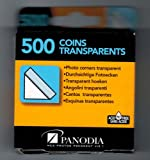 Transparent Photo Mounting Corners pack of 500 (1.5cm x 1.5cm)