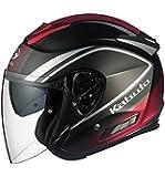 オージーケーカブト(OGK KABUTO) バイクヘルメット ジェット ASAGI CLEGANT クレガント フラットブラック L(59-60cm)