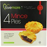Lovemore Gluten-Free Mince Pies 240g 4 Pies per Pack  (Case of 4, Total of 16 Mince Pies)
