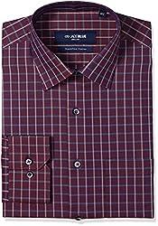 Jadeblue Men's Formal Shirt (1116204444PZJ2_44PZ_44_Hawthorn Rose)