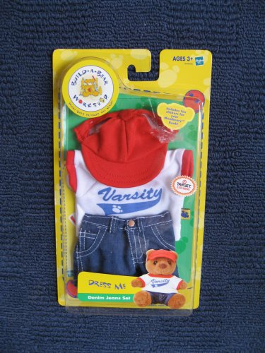 Build a Bear Dress me Denim Jeans Set
