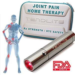 TENDLITE® The World's #1 Red Light Therapy Anti-Inflammatory Therapy   MEDICAL GRADE Strength & Relief :: FREE Case :: Chosen By Sufferers of Shoulder, Knee, Elbow, Hands, Feet or Back Pain, Carpal Tunnel Syndrome, Arthritis, Bursitis, Tendonitis, Plantar Fasciitis, Sciatica, Fibromyalgia and Other Inflammation Related Ailments