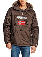 Geographical Norway Chaqueta Building (Chocolate)