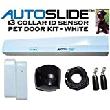 i3 Collar ID Pet Door Kit Color: White