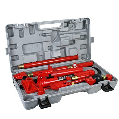 Super Deal Red Porta Power Hydraulic Jack Body 10 Ton Frame Repair Kit Auto Shop Tool (#4) (Porta Power Hydraulic compare prices)