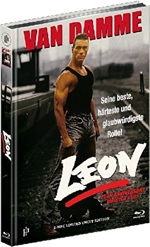 Leon - 25th Anniversary Director's Cut - Mediabook (+ DVD) [Blu-ray] [Limited Edition]