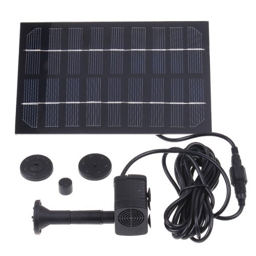 New Solar-powered Brushless Pump for Rockery Fountain/water Cycle/pond Fountain