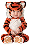 Lil Characters Unisex-baby Newborn Tiger Costume, Orange Black White, 6-12 months