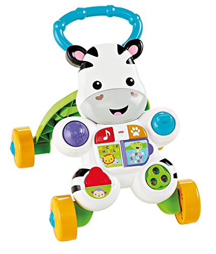Infant - Cebra parlanchina, primeros pasos Fisher-Price (Mattel DLD87)