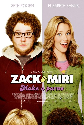 Zack and Miri Make A Porno (2008) 27 x 40 Movie Poster - Style B
