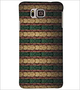 PrintDhaba Pattern D-5191 Back Case Cover for SAMSUNG GALAXY ALPHA (Multi-Coloured)