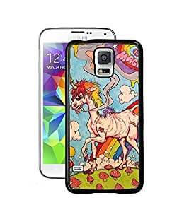 Droit Printed Back Covers for Samsung Galaxy S5 + Wrist Bracelet Data Cable USB Cable by Droit Store.