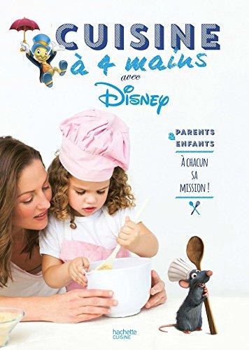 cuisine à quatre mains avec les héros de Disney